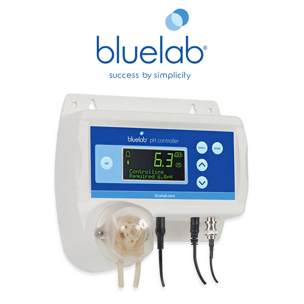Bluelab pH Controller monitor automatic ph solution dosing lcd display