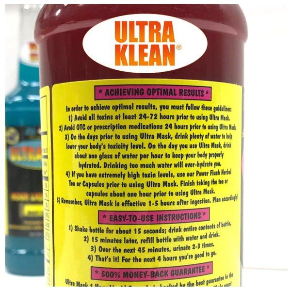 Ultra Mask Detox One Hour Cleansing Formula Just Hydroponics